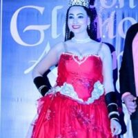 ACTRESS VANDANA GAUTAM WINNER OF  THE CROWN OF ICONIC GLAMOUR MISS WORLD 2021