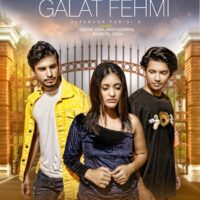 Bollywood Singer Altamash Faridi's New Music Video Galat Fehmi's Poster Out  Song Is Coming Soon